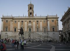 Capitoline Museum, Campidoglio - DSC03893_ep (Eric.Parker) Tags: rome roma italy 2019 europe campidoglio moon fullmoon moonrise roman forum