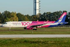 HA-LTD (PlanePixNase) Tags: aircraft airport planespotting haj eddv hannover langenhagen wizz wizzair airbus 321 a321