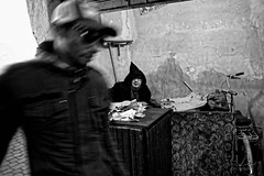 Medina (Tilemachos Papadopoulos) Tags: qoq eyecontact fujifilm fuji fujinon outdoor mono monochrome contrast portrait morocco souk street jemaaelfnaa kasbah xe2 candid bw blackandwhite mirrorless marrakech