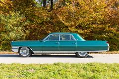 Autumn-cruise (Robobird.de) Tags: car fleetwood cadillac sixtyspecial 1964 mycar generalmotors starnberg bayern deutschland