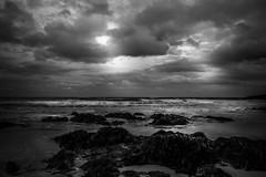 If only (Gullivers adventures) Tags: blackandwhiteinternational irishness love cloudy moody mood seascape bnw bw monochrome light sea dark overcast explorethelight explore insta flickr nature water ocean seabreeze longwalks