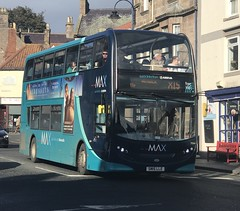 Arriva North East Alexander Dennis Enviro 400 SN15LLE 7554 (Daniely buses) Tags: arriva arrivabus alexanderdennis alexanderdennisenviro400 arrivanortheast arrivamax servicex15 sn15lle 7554