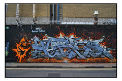 STREET ART by RICO (StockCarPete) Tags: rico streetart londonstreetart urbanart graffiti londongraffiti shoreditch shoreditchart london uk