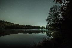Holzmaar (clemensgilles) Tags: rheinlandpfalz eifel germany deutschland etoiles estrellas nuit night nebel fog availablelight maar vulkaneifel nightphotography lake lakeside amazing astrophotographers astrofotographie longexposure sternenhimmel stargazing