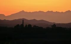 Tramonto (momentcollection) Tags: sunsettramonto autumn alps alpi zanco villadeati monferrato