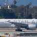 Singapore Airlines 777 in Star Alliance colors at LAX