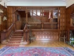 Mar Lodge entrance hall (What I saw...) Tags: mar lodge estate highlands scotland