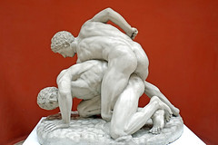 DSC01030 - Wrestlers (archer10 (Dennis)) Tags: art museum rio brazil sony a6300 ilce6300 18200mm 1650mm mirrorless free freepicture archer10 dennis jarvis dennisgjarvis dennisjarvis iamcanadian novascotia canada nationalmuseumoffinearts globus gallery sculpture