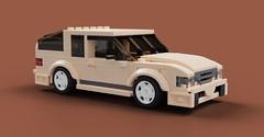 Vessim Edge 2.2 Turbo (Makaleves Lego Vehicles) Tags: lego mlv edge hatchback sport tuning turbo
