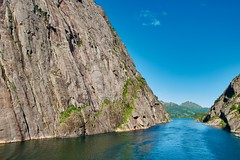 Steep (nigel@hornchurch) Tags: luminar dsc1872 digermulen norway trollfjorden