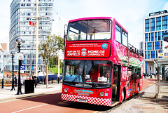 HOP ON - HOP OFF # 2. (tommypatto : ~ IMAGINE.) Tags: liverpool liverpoolfootballclub albertdock tourism buses