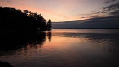 Peaches and Cream D75_0136 (iloleo) Tags: sunset scenic lakesuperior nature goulaisbay ontario nikon d750 landscape canada reflection