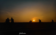 S U N S E T (nafiahaseen2412) Tags: sunset goldenhour photography bangladesh endoftheday people dark
