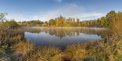 *Eichholzmaar im Herbst* (Albert Wirtz @ Landscape and Nature Photography) Tags: albertwirtz eifel vulkaneifel eichholzmaar maar see lake vulkansee volcanic steffeln duppach vulkaneifelkreis germany allemagne deutschland rheinlandpfalz rhinelandpalatinate landscape landschaft paysage campagne campagna campo nature natur natura fineart fineartphotography landscapefineart autumn herbst autunno fall reflection spiegelung water wasser nikon d810 panorama panoramic wandern hiking vulkanpfad mist fog brume bruma brouillard nebbia laniebla nebel