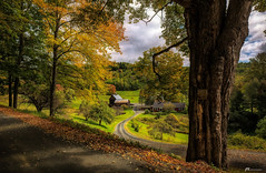 Tranquility (James Korringa) Tags: farm country countryside road scenic landscape sleepyhollowfarm vermont
