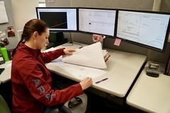 Kelli Martin at work (OregonDOT) Tags: oregondot oregon region5 engineer engineering odotpeople