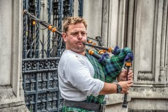 Blowhard / Piper at the Gates of Parliament (Andy J Newman) Tags: london music street bagpipes busker d500 entertainer londonphotographic man meetup musiician nikon photowalk scottkelby england unitedkingdom