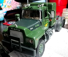MACK R MODEL working progress. (pclay923) Tags: mack rmodel