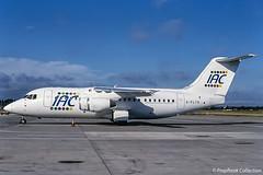 G-FLTA / BHX 26.07.2003 (propfreak) Tags: propfreak propfreakcollection slidescan egbb bhx birmingham gflta bae 146200 iac integrated aviation consortium n365ps psa n189us usair flightline fab106 tambolivia fuerzaaereaboliviana