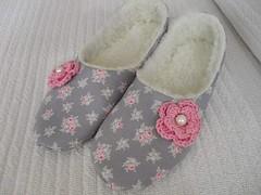 خطوات خياطة حذاء شتوي منزلي بالقماش (ezo-handmade) Tags: افكار منزلية الطرز و الخياطة خياطة كيف اصنع