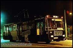 980-1993-01-25-Bahnhof Drewitz (steffenhege) Tags: potsdam vip obus oberleitungsbus trolleybus skoda 14tr 980