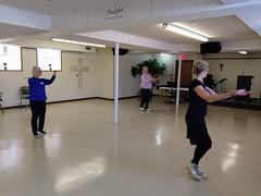 (sfrikken) Tags: ballroom basics for balance dance falls prevention senior fitness dale presbyterian church hannah connie otty susan waltz madison wisconsin
