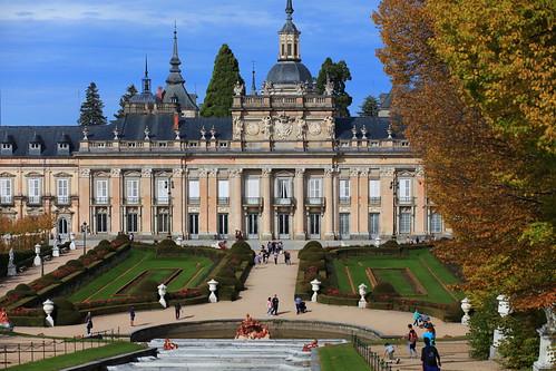 Palacio de San Ildefonso, Segovia, España - San Ildefonso Palace, Segovia, Spain