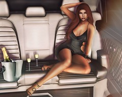 [ 📷 - 139 ] (insociable.sl) Tags: drink glasses champagne sexy classy luxury car photographer photo picture shooting woman female girl model edit sl secondlife