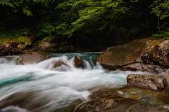 The cascade @ the Sentier de Cascades