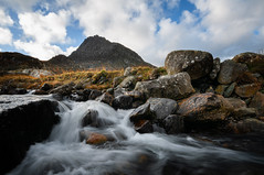 Go with the flow (Einir Wyn Leigh) Tags: landscape water river mountain rural rugged colour rocks nikon outdoors outside light valley wales uk