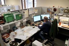 David Fletcher's workstation (OregonDOT) Tags: oregondot oregon region5 engineer engineering odotpeople