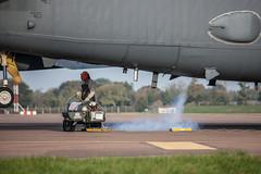 Liquid Oxygen - Boeing B-52H Stratofortress (Pete Hemsley) Tags: fairford b52 heavy bomber deployment usaf