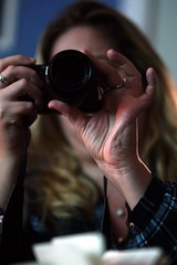 Looking for Art in My Photo Class - Elaine V (Fojo1) Tags: color selectivefocus candidphotography