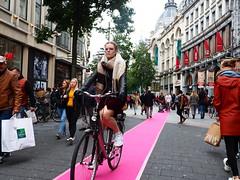 nieuw fietspad (jdel5978) Tags: meir candid cycle antwerp anvers