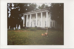 Instax Spooky House right (Neal3K) Tags: instax halloween hauntedhouse spooky ghosts skeletons abandoned