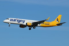 Aurigny Air Services Embraer 195 (Retro Jets) Tags: lgw aurigny emb195