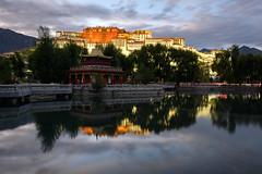 Evening in Lhasa (www.halkaphoto.com) Tags: asia china tibet lhasa potalapalace himalaya himalayas mountains buddhism buddhist religion belief faith worship philosophy dalailama dzong fortress museum unesco worldheritagesite travel tourism nikon z7 z2470mmf28s
