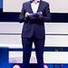 Carsten Maschmeyer self-confident investor on stage of Digital X in Cologne