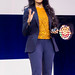 Dr Ayesha Khanna talks about AI on stage at Digital X in Cologne