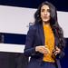 Ayesha Khanna, Co-founder und CEO von AddoAI auf der Bühne - Keynote