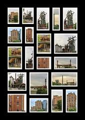 Collage 1 (karl-heinz.nelsen) Tags: industrie hattingen henrichshütte stahlwerk hochofen