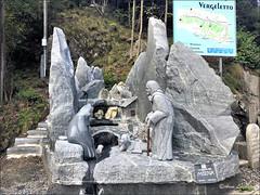 Scultura in granito di Raphael PACHE 2019 (arno18☮) Tags: lamiseria raphaelpache ponteoscuro crana vergeletto onsernone ticino suisse granito legende culture artiste arno18