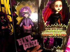 LDD Loot from The Exchange (Josie&theKILLER_DOLLS) Tags: nrfb geeky horror creepy vintage inferno victims fashion ass kick girl hit dolls dead living ldd