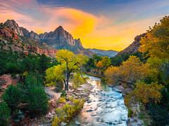 Zion National Park Zion Watchman Virgin River Fuji GFX100 Fine Art Autumn Colors Landscape Nature Photography! Epic Canyon Glow! Fall Foliage Virgin River Zion NP Fuji GFX 100 Elliot McGucken Utah Landscape Art! FUJIFILM FUJINON GF 32-64mm f4 R LM WR Lens (45SURF Hero's Odyssey Mythology Landscapes & Godde) Tags: zion national park watchman virgin river fuji gfx100 fine art autumn colors landscape nature photography epic canyon glow fall foliage np gfx 100 elliot mcgucken utah fujifilm fujinon gf 3264mm f4 r lm wr lens
