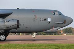 Boeing B-52H - 0025 - RAF Fairford 30OCT2019 (Pete Hemsley) Tags: fairford b52 heavy bomber deployment usaf