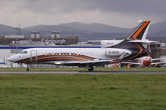 B-8205 - EDI 2019 (Martin Third Av'n) Tags: unitedkingdom scotland edinburgh egph edi b b8205 dassault falcon7x bizjet