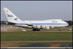 BOEING747 SP 21 NASA N747NA 21441 SOFIA Stuttgart septembre 2019 (paulschaller67) Tags: boeing747 sp 21 nasa n747na 21441 sofia stuttgart septembre 2019