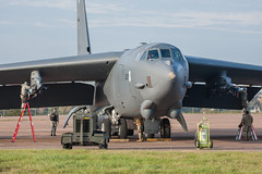 Munitions - Boeing B-52H - 0025 - RAF Fairford 30OCT2019 (Pete Hemsley) Tags: fairford b52 heavy bomber deployment usaf