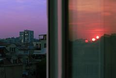 split (Coughh_Syrup) Tags: diptych urban nature city soviet bulgaria plovdiv sun sunset sunrise clouds dusk dawn lights buildings architecture melancholy