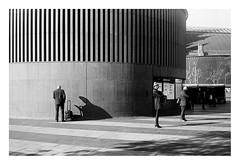 FILM - Shadow man (zuffleking) Tags: olympustrip monochrome 400tx